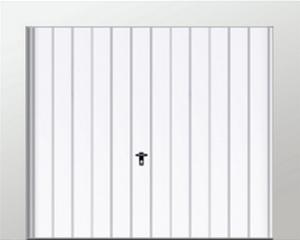 Schwingtore - MUSTER 4 - senkrechte hohe Stanzung