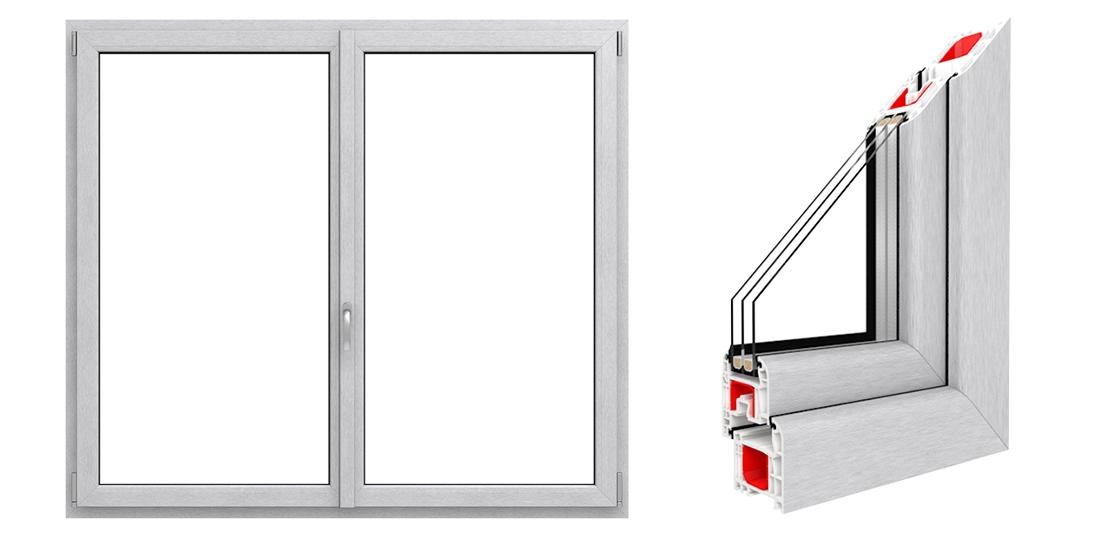 kf 501 kunststofffenster chmenia. Black Bedroom Furniture Sets. Home Design Ideas