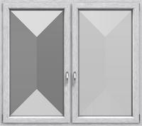 KF 602 - Farbe: Gebürstetes Aluminium