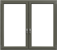 KF 602 - Farbe: Basaltgrau Glatt
