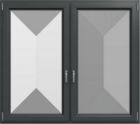 KF 602 - Farbe: Schiefergrau Glatt